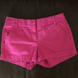 J. Crew Pink Short Chino Size 2